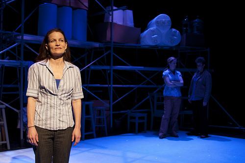 "Stephanie Howell as Janeal in ""Community Standard."" part of Eric Samuelsen's 3"