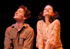 David Fetzer with Stephanie Howell in THE END OF THE HORIZON