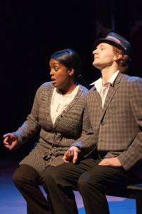 David Fetzer with Dee-Dee Darby-Duffin in THE THIRD CROSSING