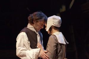 David Fetzer with Lauren Byington-Noll in THE SCARLET LETTER