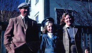 Eric Samuelsen's grandfather, Ragnar Andreas Samuelsen (left), the basis for the character of Mr. Bowles