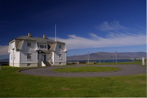 The former French consulate, called Höfði, was the site of the Reykjavík Summit in 1986