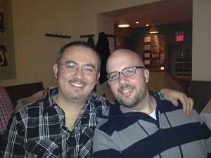 "Jerry & Kirt celebrating their ""other"" anniversary (#16, December 28, 2011)"