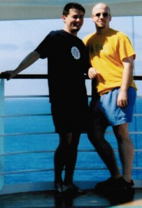 Jerry & Kirt on a cruise to Mexico (2003)