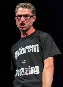 Matthew Ivan Bennett, performing an excerpt from DIFFERENT=AMAZING at THE ROSE EXPOSED (2013)