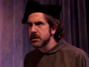 Mark Fossen as Christopher Columbus - photo credit Rick Pollock